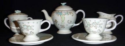 Mini Porcelain/Ceramic Tea Set  ~ Child's Coffee / Tea Party in Orland Park, Illinois