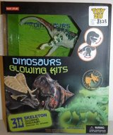 New! Dinosaur Model + Glowing 3D Brachiosaurus Kit in Orland Park, Illinois