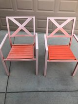 Set of 2 Vintage Metal Patio Chairs in Fairfield, California
