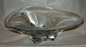 Orrefors Crystal Center Piece Bowl 12 3/4 inches in Schaumburg, Illinois