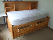 Trendwood Twin Bed with LOTS of Storage! in Beaufort, South Carolina
