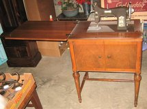 Vintage 1950's DOMESTIC Series 153 Sewing Machine in Oswego, Illinois