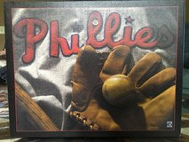 Philadelphia Phillies Cooperstown collection 13.5 x 10.5 wall hanging on canvas in Quantico, Virginia