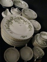 45 Piece Set of Hawthorn by Franconia Krautheim China With Serving Pieces Beautiful! in Joliet, Illinois