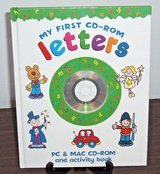NEW Rare Early Learning My First CD-Rom LETTERS PC Mac Activity Book Educational A B C's in Plainfield, Illinois