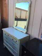 Very Nice French Provincial Dresser and Mirror - Delivery Available in Tacoma, Washington