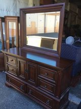Beautiful Black Cherry Buffet / Lowboy Dresser - Delivery Available in Tacoma, Washington