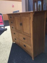Nice Solid Wood Highboy Dresser / Gentleman's Chest-Delivery Available in Tacoma, Washington