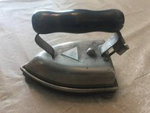 ANTIQUE IRON AND BASE in Plainfield, Illinois