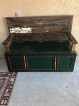 MAGNIFICENT bench with storage - made from vintage cedar dresser in El Paso, Texas