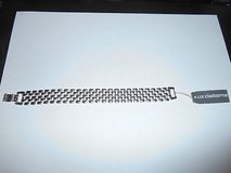 "New Liz Claiborne Silvertone Bracelet w/ Clasp. MINT 7 1/2"" long in Kingwood, Texas"
