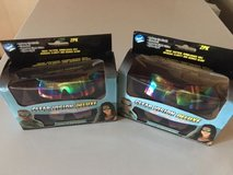 lot of two   2pk clear vision deluxe tactical sunglasses (4 glasses total) in Glendale Heights, Illinois