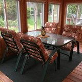 9-piece Patio Furniture Set with Cushions in Bolingbrook, Illinois