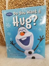 "Disney Frozen ""Olaf"" Do You Want A Hug?  Hard Cover Book in Morris, Illinois"