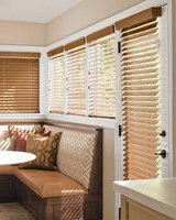 "Like New! (1) Smith & Noble Oak Wood Blinds 63""W x 46"" in Chicago, Illinois"