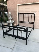 Very Nice Iron Full Size Bed Frame in Fairfield, California