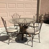 5-Pc Glass Top Dining Set in Vacaville, California