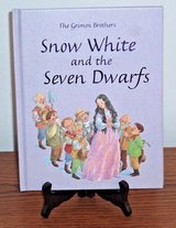 RARE The Grimm Brothers Snow White and the Seven Dwarfs Hard Cover Book in Joliet, Illinois