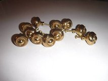Dresser Drawer Cabinet Knobs Gold Tone - 11 total in The Woodlands, Texas
