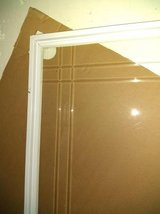 Etched Tempered Storm Door Insert in Glendale Heights, Illinois