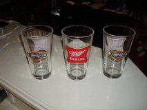 """3"" Milwaukee Brewers Miller Park Opening Day Miller High Life Glasses in Brookfield, Wisconsin"