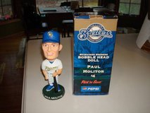 2003 Milwaukee Brewers PAUL MOLITOR BobbleHead SGA NIB in Brookfield, Wisconsin