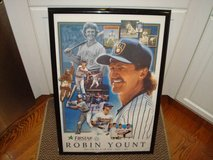 MILWAUKEE BREWERS Robin Yount 1999 Commemorative Poster Sign L@@K!! in Brookfield, Wisconsin