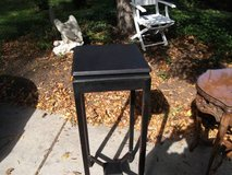 BLACK HARDWOOD PLANT STAND in Tinley Park, Illinois