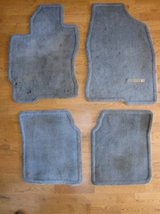 TOYOTA PRIUS 2008 Floor Mats Front Rear Left Right Set of 4 GREY GRAY in Aurora, Illinois