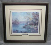ART - Charles Vickery - The Four Seasons - Autumn Reflection - Matted & Framed Print in Lockport, Illinois