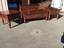 Set of Four Living Room Tables - Delivery And Financing* Available in Tacoma, Washington