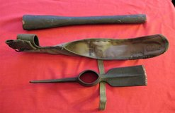 WWII US Army Pick Mattock Tool Marked Diamond Calk 1943 & Carrier 1944 in Chicago, Illinois