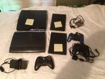 PlayStation game console Lot ps3 (2) ps2 (2) controllers more in Fort Campbell, Kentucky