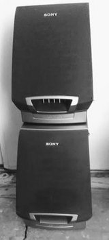 2 Sony speakers in Camp Pendleton, California