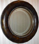 Round Framed Beveled Mirror by Uttermost Products of Distinction in Chicago, Illinois