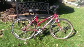 Schwinn CrossFit Small Womens All Terrain Bike Maroon Like New Extras in Chicago, Illinois