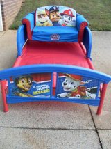 Paw Patrol Toddler Bed & 2 in 1 Sofa Set in Fort Campbell, Kentucky