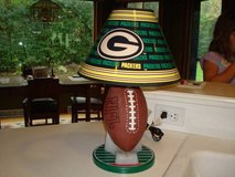 Ultra Rare 1997 NFL Green Bay Packers FOOTBALL on Tee Lamp w/ Shade in Brookfield, Wisconsin