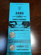 Bears vs Vikings North Garage Parking Pass in Plainfield, Illinois