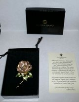 englands rose 1997 r j graziano princess dianna tribute brooch flower in Naperville, Illinois