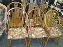 Six Spindle Chairs - Delivery Available in Tacoma, Washington