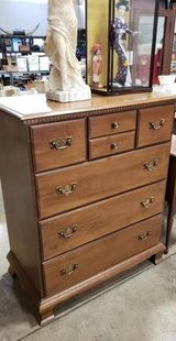 Solid Maple Highboy Dresser - Delivery Available in Fort Lewis, Washington