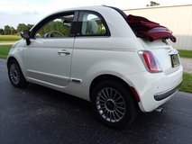 '13 Fiat 500C Lounge Convertible, Automatic Transmission, 62,000 Miles in Cherry Point, North Carolina