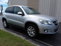 2010 VW Tiguan 5-Passenger SUV, 4 Cyl Automatic, 81k Miles, GREAT MPG! in Cherry Point, North Carolina