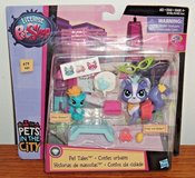 NEW Littlest Pet Shop PET TALES In The City Ritzy Rococo Frilly Von Riches #'s 79 & 80 in Joliet, Illinois