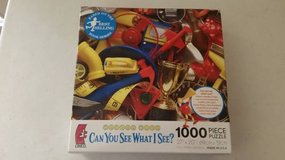 Can you See What I See? Educational 1000 piece unwrapped puzzle in Oceanside, California