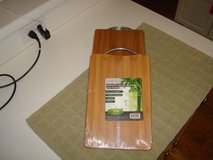 """11.8"""" x 7.9"""" Bamboo Cutting Board w/ Handle - Brand New in Package in Brookfield, Wisconsin"""