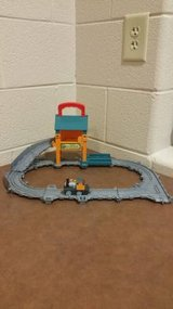 Thomas The Train: Take-n-Play Sodor Steamworks Repair Shed (CD) in Fort Campbell, Kentucky