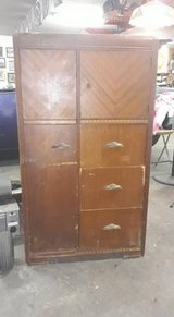 1940's Solid Wood Wardrobe Dresser in The Woodlands, Texas