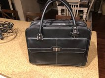 Samsonite Leather Briefcase Bag in Travis AFB, California